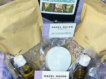 For Sale: Hazel Heaven Bathsalt gift boxes