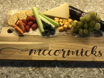 Selling with online payment: Charcuterie Board