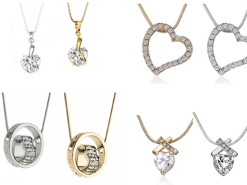 Buy Now: 16 Assorted Necklaces best sellers Swarovski Elements Jewelry