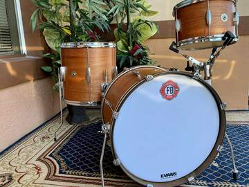 Selling with online payment: Firehouse drums Mahogany/poplar 6 ply 20x14, 14x14, 12x8,