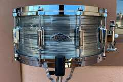 "Selling with online payment: ASBA Revelation Snare Drum in Fade to Gris 6.5""x14"""