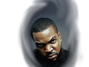 Tattoo design: Ice Cube