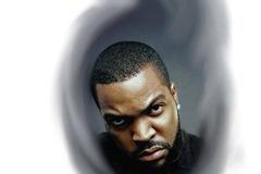 Tattoo design: Ice Cube