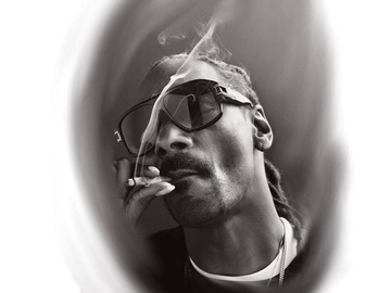 Tattoo design: Snoop Dogg