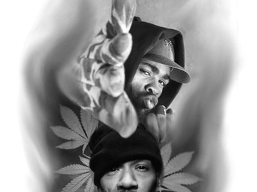 Tattoo design: Method man and Redman