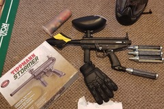 Selling without online payment: Tippmann Stormer paintball marker and accessories