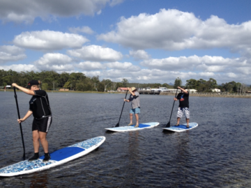 Offering with online payment: Burrill Lake Stand up Paddle board shop - lessons