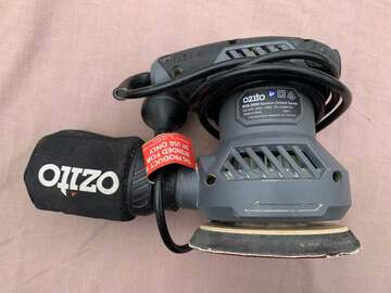 For Rent: Ozito 230W Random Orbital Sander for rent $3.99/day