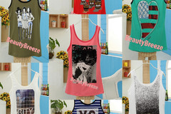 Selling: (50) Stylish Wholesale Women Clothes Tank Tops Sleeveless