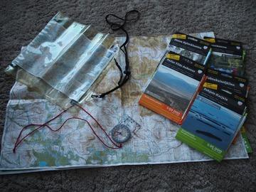 Uthyres (per vecka): Karttapaketti (sis. kartan, kompassin ja karttalaukun)