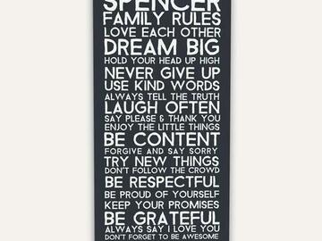 : MY FAMILY RULES