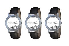 Vente: PACK de 3 montres : je m'en fous je suis toujours en retard