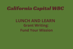 Announcement: Grant Writing – Fund Your Mission
