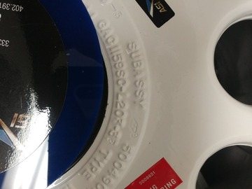 Parts Available: P/N 1159SCL203-33 Main Wheel Assy