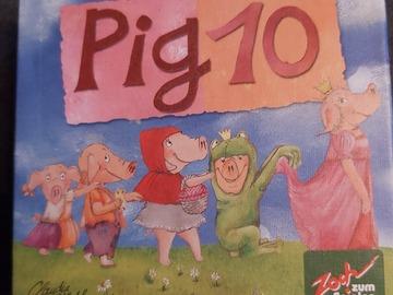 Vente avec paiement en ligne: Pig 10