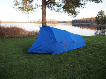 Hyr ut (per day): Fjällraven Abisko 2 hengen teltta
