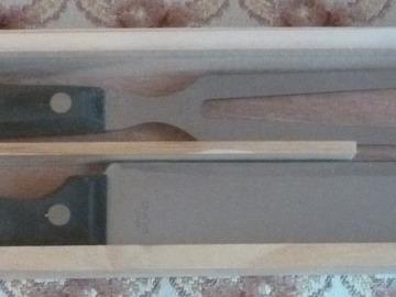 Vente: Grande fourchette et couteau