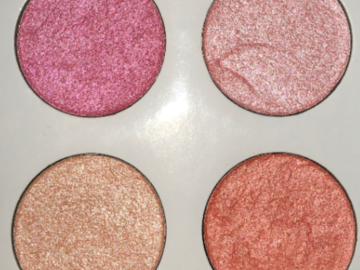 Selling with online payment: Vixen Handmade Eyeshadow Palette by All That Glitters