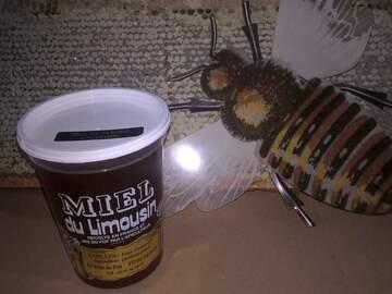 Vente avec paiement en direct: Vente de miel toutes fleurs du limousin