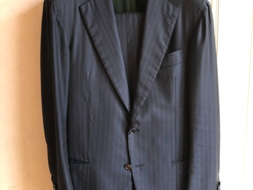 Online payment: Handmade pinstripe suit from Saint Gregory Napoli - UK40