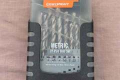 For Rent: Craftright metric 25 pce drill set for rent $2.99/day