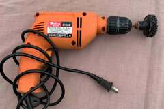 For Rent: Electric drill for rent $3.99/day