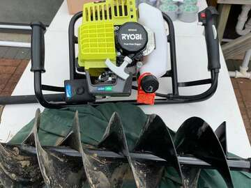 For Rent: RYOBI RPHD52 POST HOLE DIGGER for rent $28.99/day