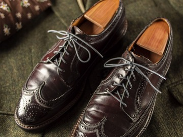 Selling with online payment: Shoes FLORSHEIM IMPERIAL Kenmoor – Cordovan – Size 9 ½ US – Width
