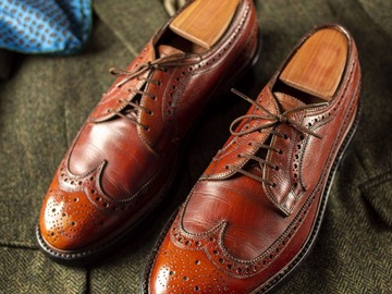 Selling with online payment: Shoes FLORSHEIM IMPERIAL Kenmoor – Leather – Size 8 ½ US – Width