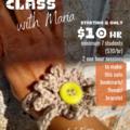 Live On-line Workshop: Crochet Bracelet/Bookmark