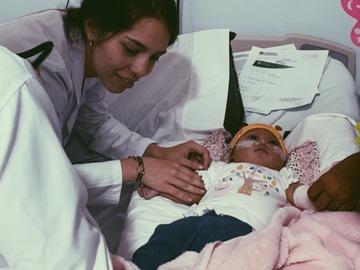 VeeBee Virtual Babysitter:   Baby sitter. I'm medicine student