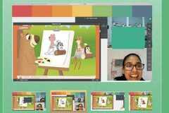 VeeBee Virtual Babysitter: Experienced with online activities
