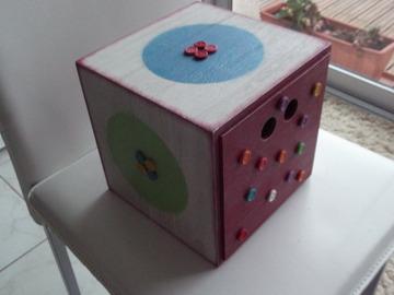 Vente au détail: Boîte cube pour rangement
