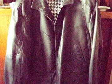Vente: a vendre manteau cuir pleine fleur