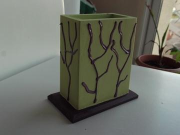 Vente au détail: Pot à crayon vert anis
