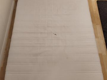 Myydään: IKEA Malvik Mattress 140x200 cm (20 cm thick foam)