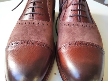 Selling with online payment: Grenson G One Spectator/Correspondent Shoes UK8/US9