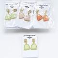 Liquidation/Wholesale Lot: 4 Dozen Mixed Assorted Fashion Earrings - See Pics