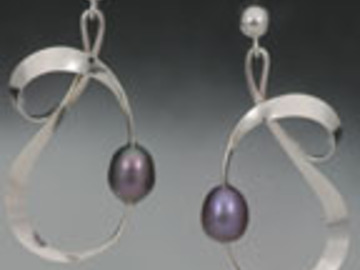Selling with online payment: Solar Loop Earrings
