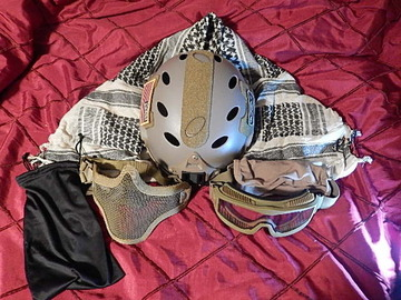 Selling: Lancer Tactical Full head protection kit