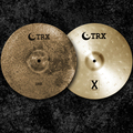 "Selling with online payment: TRX 14"" DRK-X Cross-Matched Hi-Hats"