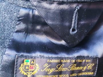 Selling with online payment: Hackett Loro Piana Cashmere blend coat UK40/EU50