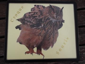 Vente au détail: Tapis de souris chouette hibou
