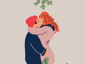 Selling: UNDER THE MISTLETOE - WHO IS YOUR TRUE LOVE? Urgent response in 1