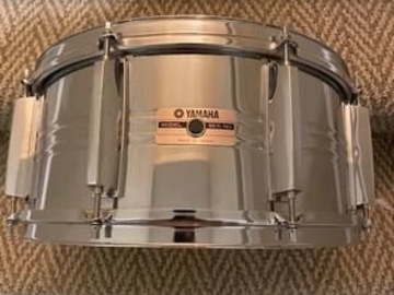 Selling with online payment: 6.5x14 Yamaha seamless steel snare