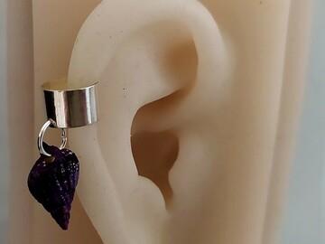 Vente au détail: Bague d'oreille coquillage