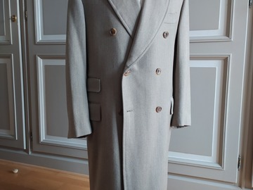 Online payment: Sartoria Parma (Caruso) double breasted coat 40UK