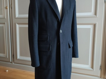 Online payment: Scabal Unstructured Martingale Coat UK42