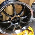 """Selling: Work Emotion D9R 19 X 9.5"""" +12    GT Silver"""