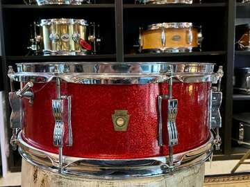"Selling with online payment: Ludwig No. 908 Jazz Festival 5x14"" 8-Lug Snare Drum with Keystone"
